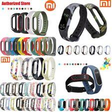 For Xiaomi Mi Band2 Adjustable Bangle Soft Silicone Strap Wristband Bracelet HQ