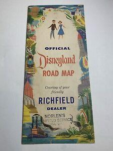 Richfield Oil Disneyland Road Map