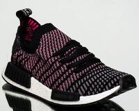 adidas Originals NMD R1 STLT Primeknit PK men NEW black grey pink white CQ2386