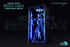 1/6 Scale TOYS-BOX Hangar 4.0 Tron Edition Box Case Model F Iron Man MK4 Figure