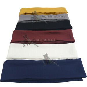 Kung fu Suit Tai chi Uniform Belts Martial arts Sashes Cotton Linen 25 Colors