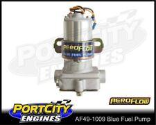 Aeroflow Electric Fuel Pump Blue 110 GPH 14 psi Petrol AF49-1009