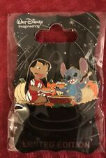 Disney WDI Lilo And Stitch Thanksgiving LE MOC HTF Rare Pin