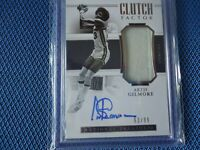 2018-19 NATIONAL TREASURES JERSY AUTO ARTIS GILMORE CLUTCH FACTOR 63/99 NICE
