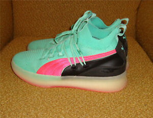 Puma Clyde Court Disrupt Ocean Drive Mens Basketball Sneakers / Shoes