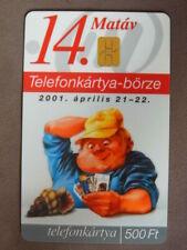 Chip Kaart gebruikt Hongarije  -  Beurs 2001  opl 10000