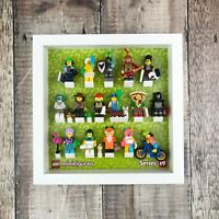 Display Frame for LEGO Series 19 Minifigures | Series 19 Minifig Case