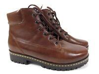 WALDLÄUFER Hanako Leder Schuhe Stiefeletten Boots Gr. 37,5 UK 4,5 H  247