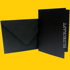 50 x A5 COOL NERO wedding card bianchi + Buste C5