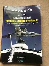 Pooleys Helicopter Manual - Principles of Flight Technical H