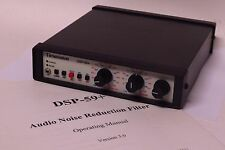 Timewave DSP-59+ Audio Noise Reduction Filter w/ Manual!