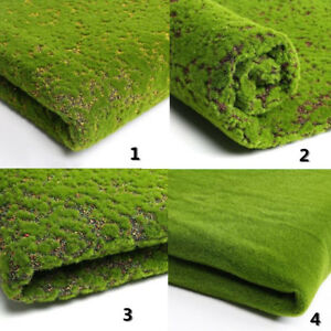 50cm Micro Landscape Hang Wall Artificial Moss Grass Plant Lawn Home Decor