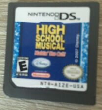 DISNEY HIGH SCHOOL MUSICAL: MAKIN' THE CUT (Nintendo DS, 2007) DS DSI DSL NDS 3D