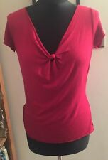 Monsoon Red T-shirt Size 14