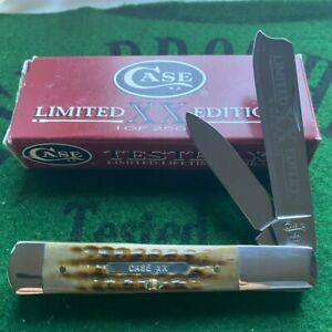 case xx limited edition set # 2 green bone razor unused factory mint bar shield