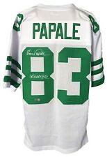 Vince Papale Autographed Pro Style White Jersey Tri-Star Authenticated