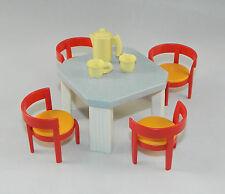 Playmobil Wohnhaus Küche Tisch mit Stühlen aus Set 4283 zu 4279 3965 #34983