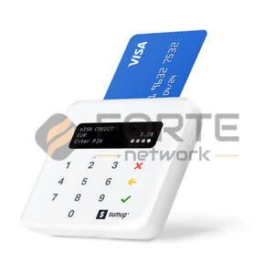 POS Portatile Sumup Air Lettore Carte di Credito Bancomat Bluetooth Wi-Fi NFC