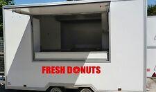 1x Fresh CIAMBELLE Catering Van/Rimorchio Adesivi, Decalcomanie, grafiche in vinile