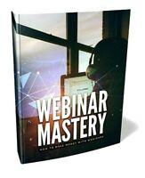 Webinar Mastery PDF ebook Master Resell Rights