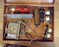 Ancien lot Wagon Marchandise Jouef Märklin Electrotren Vintage Ho Train Faller