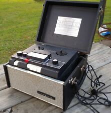 """Vintage THE VOICE OF MUSIC """"COURIER"""" Reel To Reel TAPE PLAYER/RECORDER"""