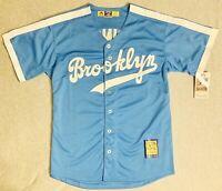 1947 Jackie Robinson Brooklyn Dodgers Light Blue Jersey Size Men's Medium