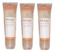 3-Murad Environmental Shield 4.5 oz x 3  Essential C Cleanser 13.5oz New No Seal