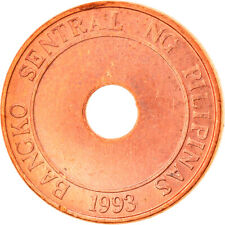 [#821438] Coin, Philippines, 5 Sentimos, 1995, AU(55-58), Copper Plated Steel