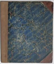1877 INDIA 50 page MANUSCRIPT JOURNAL HUNTING TIGERS PANTHERS BIG GAME etc