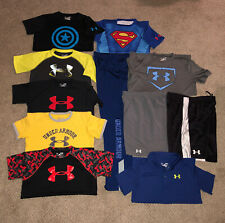Lot of 11 Piece Boy's Under Armour Size Boys LG/XL