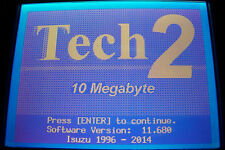 10mb memory card for Isuzu 98-2011 v11.680 use with Tech 2 Tech2