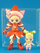 Motto! Ojamajo Magical Doremi Pop Harukaze & Hana-Chan Action Figure Set Japan