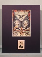 Mexican War Hero Zachary Taylor & the 1848 Presidential Election & his stamp