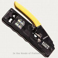 Klein Tools VDV226-107 Compact Ratcheting Modular Crimper + Strip < NEW