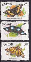 1984 Nauru Butterflies MUH