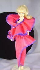 Vintage Mattel 1982 Dream Date Barbie Fashion Raspberry Satin Skirt Only 5868