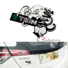 (1) JDM Japanese Style Graffiti TEIN Elephant Sticker Decal For Cars SUVs Truck