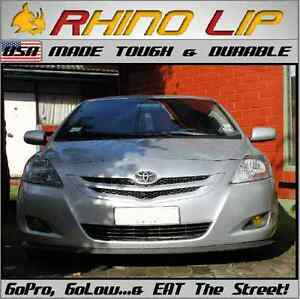 Toyota GT Yaris Solara Matrix Prius Rubber Chin Lip Spoilers Splitters Edge Trim
