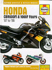 Honda CBR600F1 and 1000F Fours Service and Repair Manual (Haynes Service and Rep