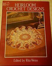 A001 DOVER NEEDLEWORK SERIES 1986, HEIRLOOM CROCHET DOILIES ~ 36 DESIGNS
