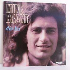 """33T Mike BRANT Disque Vinyle LP 12"""" DIS-LUI - SUMMERTIME - WIP RECORDS 2933 501"""