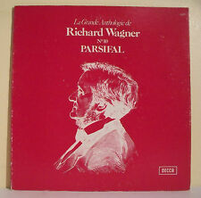 "33T Richard WAGNER Disque LP 12"" LA GRANDE ANTHOLOGIE N° 10 PARSIFAL -DECCA 7420"
