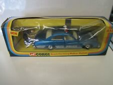 1976 Corgi Mettoy Buick Century Police Car with Figure -  #416 in Box