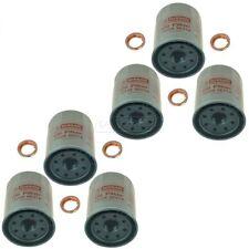 OEM Engine Oil Filter & Drain Plug Gasket Kit Set of 6 for Nissan Infiniti New