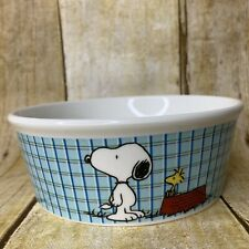 Peanuts Snoopy Woodstock Round Pet Bowl Classic All Gone Toy Dog Cat Size