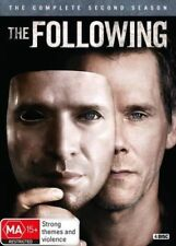 THE FOLLOWING (COMPLETE SEASON 2 - DVD SET SEALED + FREE POST)