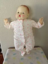 "Ideal Vintage 18"" Thumbelina 1982 Vinyl Cloth Doll #9"