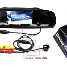 Mirror CCD Car Front Side Reverse Camera Rear View Parking Mini Cam New