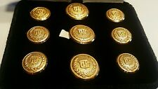 Cadillac Gold  Buttons  - Jacket Blazer Buttons